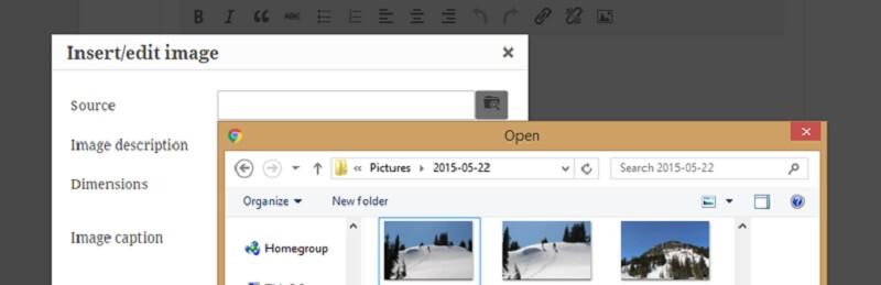 Inline Image Upload for BBPress
