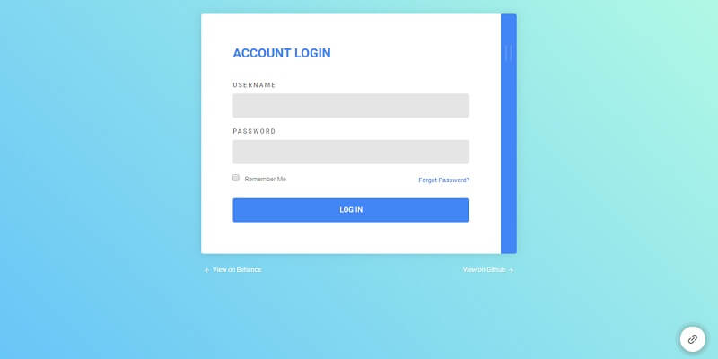 Free HTML5 Login Form Templates