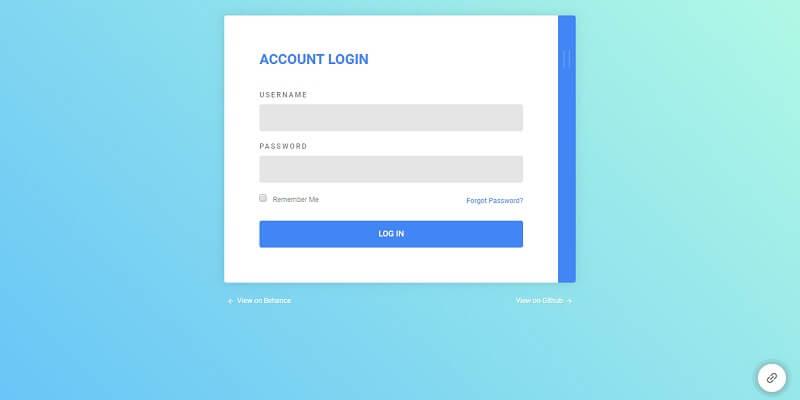Free HTML5 Login Form Templates