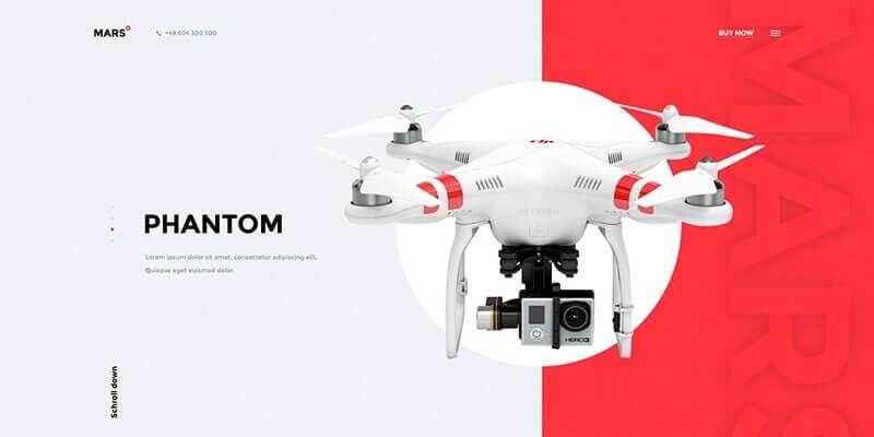 Free Technology PSD Website Templates