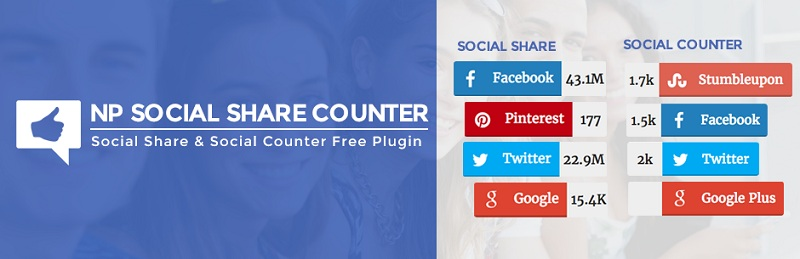 NP Social Share Counter