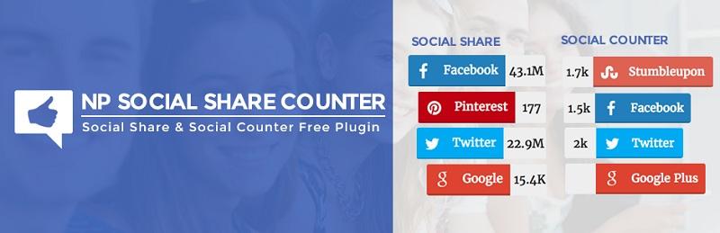 NP Social Share Counter