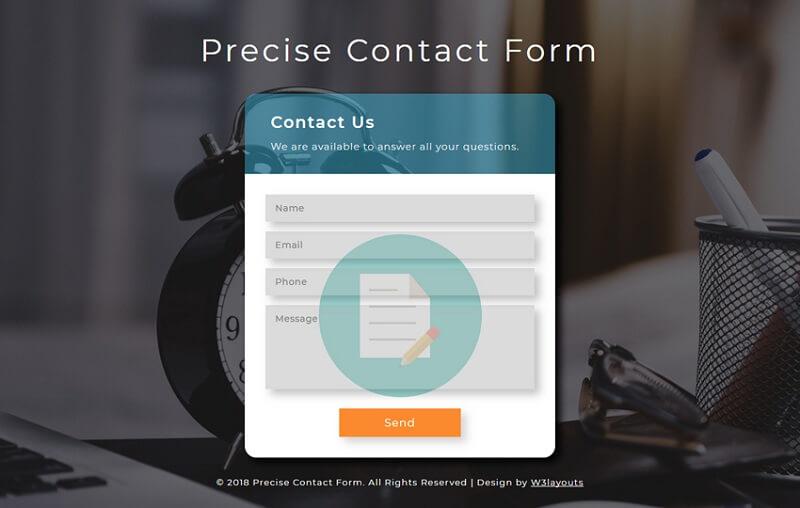 Precise Contact Form