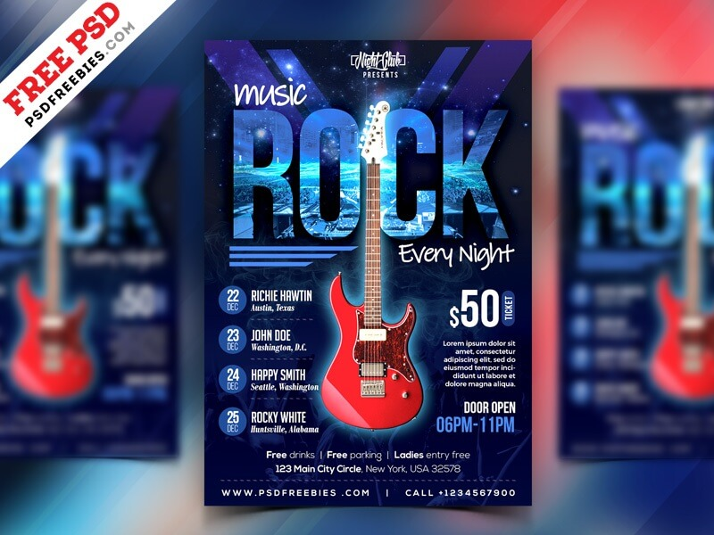 Rock Music Event