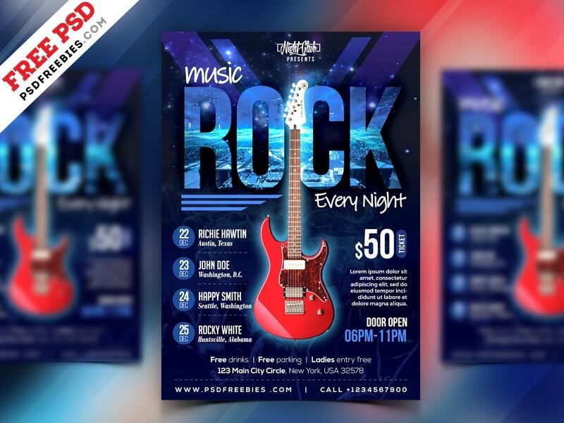 Rock Music Event