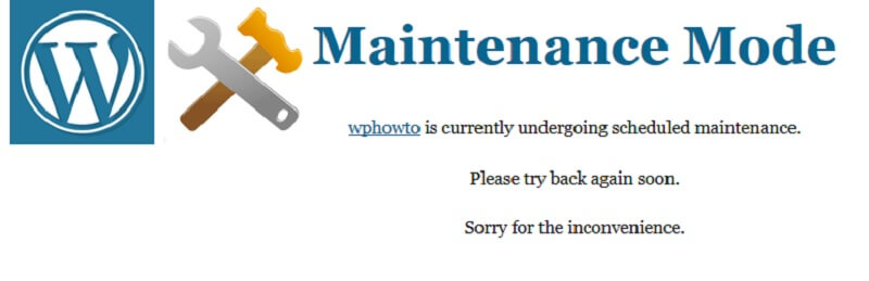 Free Maintenance Mode WordPress Plugins