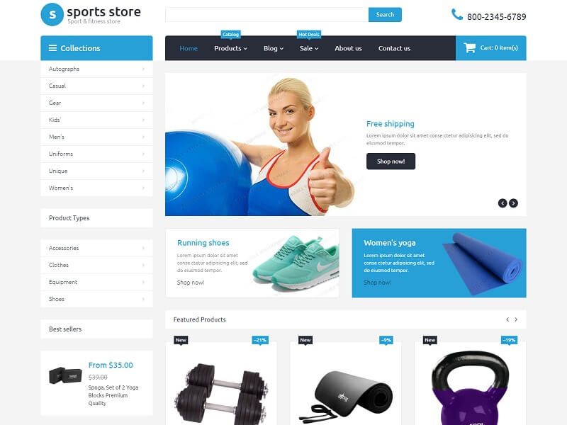 30 Best Free Shopify Themes 2019 - Digital Template Market