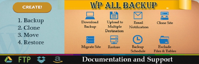 Free Backup WordPress Plugins