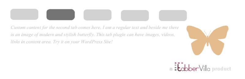 WordPress Post Tabs