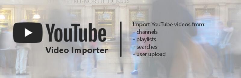 YouTube Video Importer