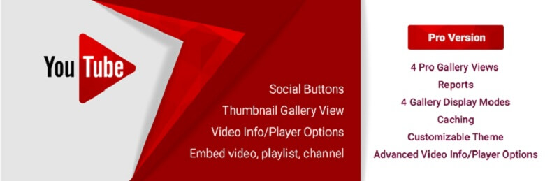 Youtube Player and Gallery