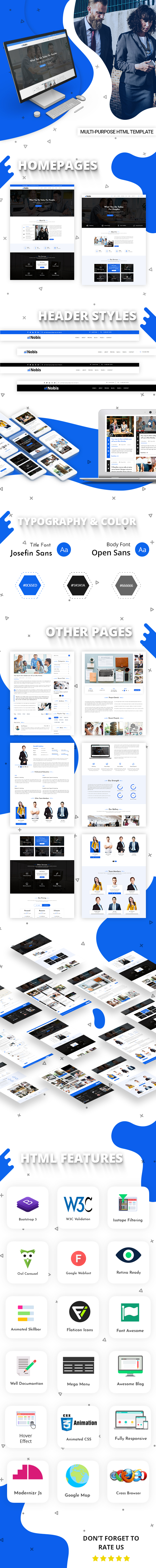 Nobis Corporate Business HTML Template