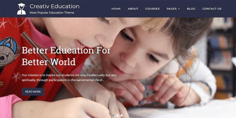 Free School WordPress Themes