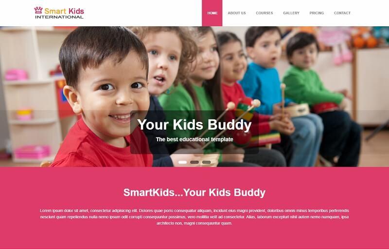Free Study HTML Website Templates