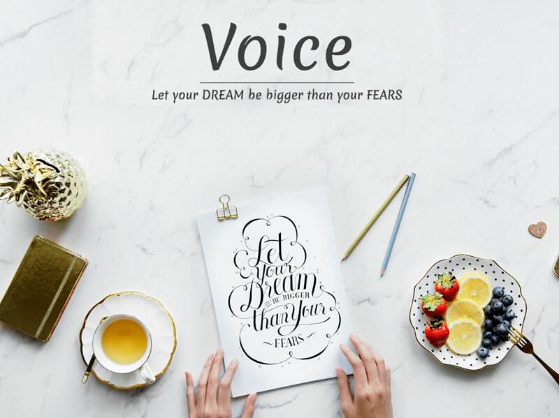 Voice Blog