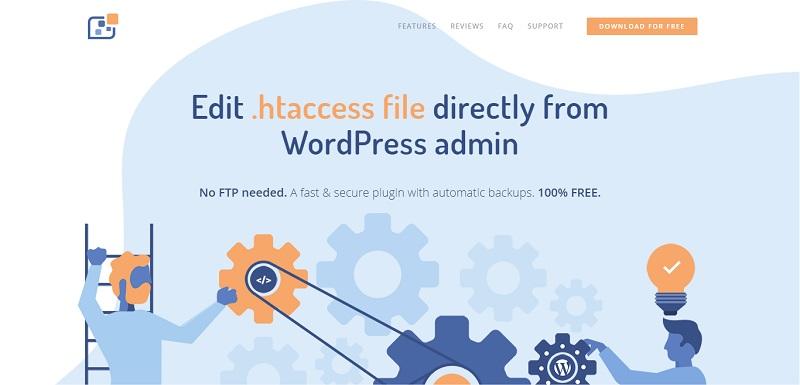 WP Htaccess Editor Plugin