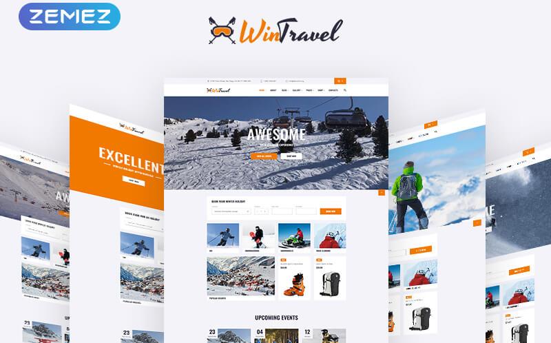 Travel Agency HTML Templates