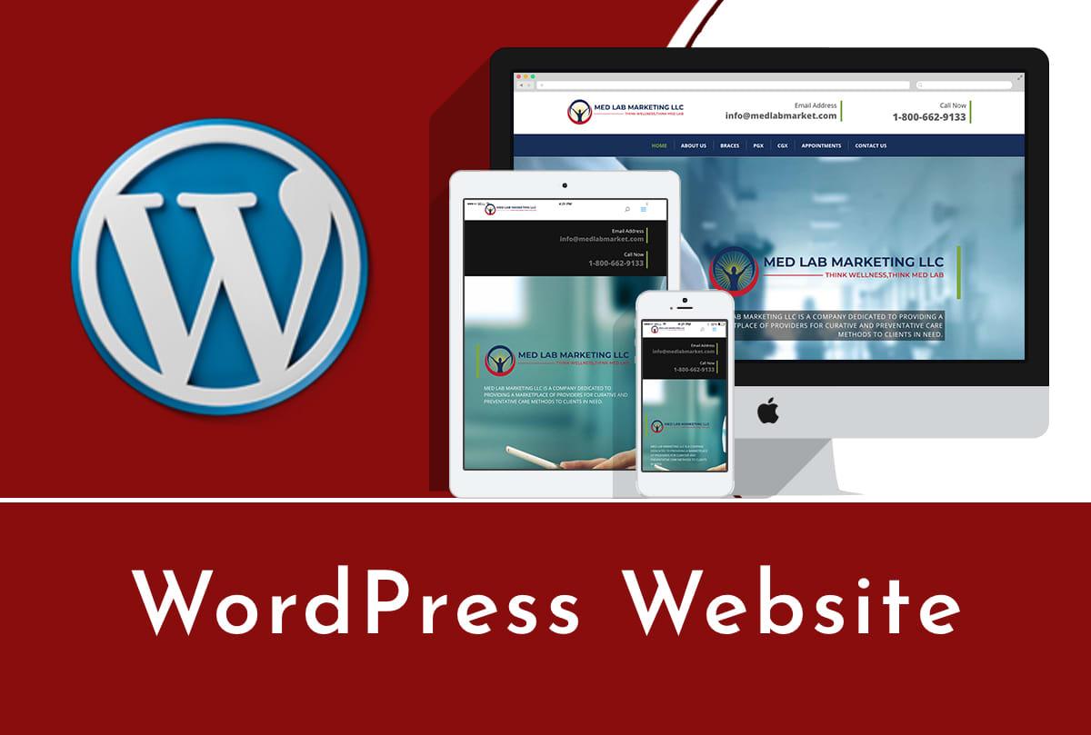 build a perfect WordPress website