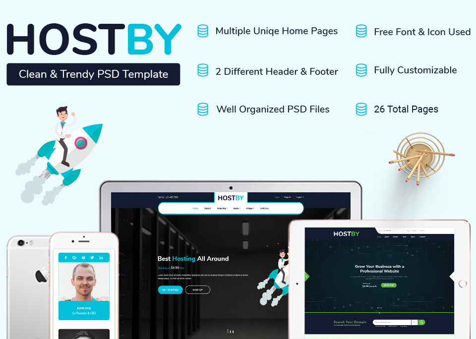 Hostby_Banner_Digital Market