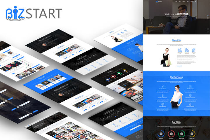 Bizstart Premium WordPress Theme