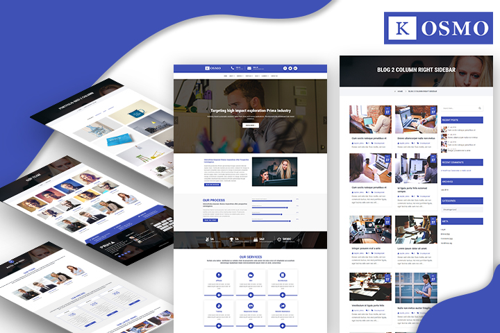 Kosmo Premium Wordpress Theme