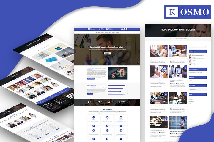 Kosmo Premium Wordpress Theme