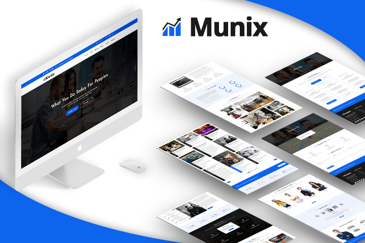 Munix Premium Wordpress Theme