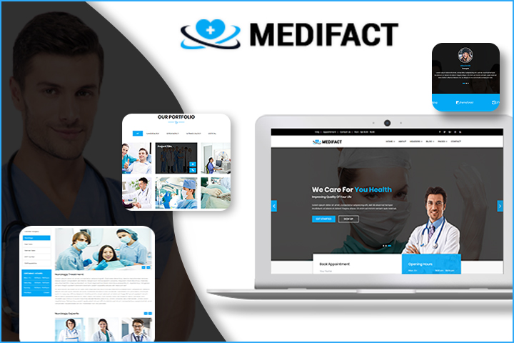 Medifact Premium Wordpress Theme