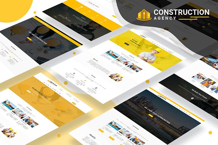 Construction Agency Premium WordPress Theme