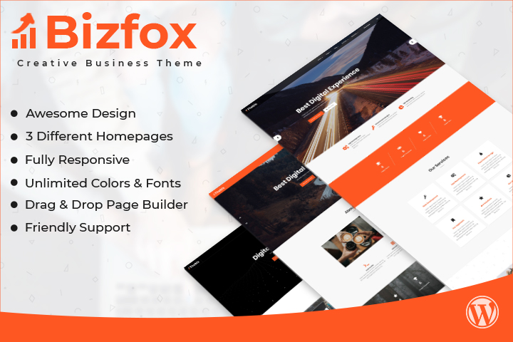 Bizfox Premium WordPress Theme