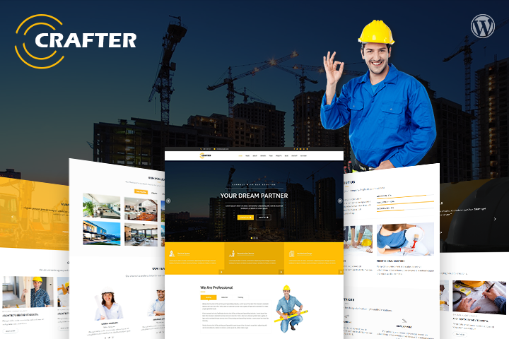 Crafter Premium WordPress Theme