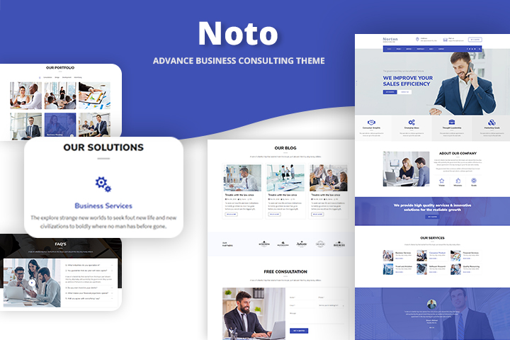 Noto Premium Wordpress Theme